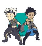 Bokuto and Akaashi by Noir-Lupus