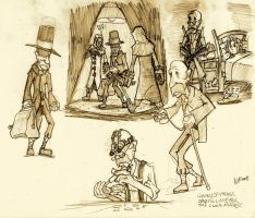 Drosselmeyer Concept Sketch by Kmadden2004