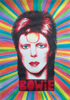 Bowie Poster by skylenblue