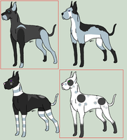 Great Dane batch 2 by JourneytoRevenge