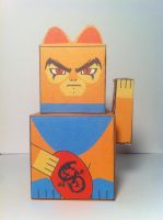 Lucky Cat Cubee - Lion-O by theredone1986
