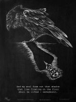 The Raven - Edgar Allan Poe by MIKEANGEL1