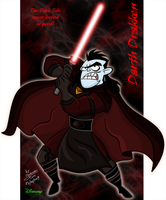 Darth Drakken by Dinogaby