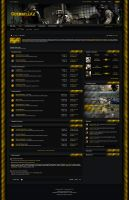 Guerrillaz Clan Forum Design (v1) by Iwantchitzz