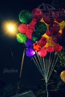balloons in Christmas by giosolARTE