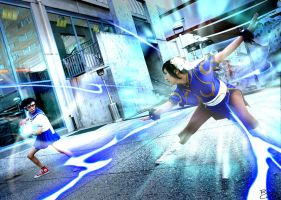 Combo -Street Fighter cosplay- by mell0w-m1nded