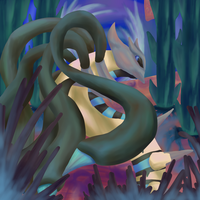 Distortion forest by HoneyShuckle