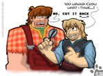 The Bjorgman-it Ralph =3= by SlashweilerDog