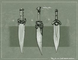 Blades Design 3 by Ranoartwork