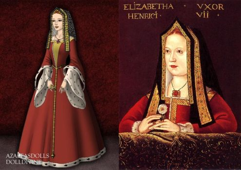 Elizabeth of York, Henry VIII's Mother by LadyAquanine73551