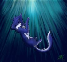 Bluestar drowning by Meep-is-Best-Pony