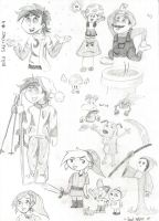 Philo Sketches 4 by Soul-Helper