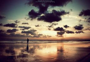Sunset Tranquility by bayu85