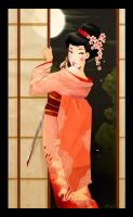 Geisha girl by deedlith