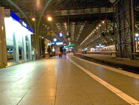 Cologne central trainstation by Shyrkon