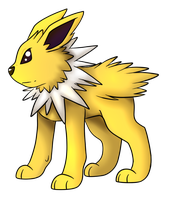 135: Jolteon by CollectionOfWhiskers