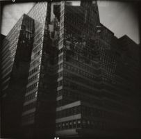 Times Square Double Exposure by matthew-s-hanson