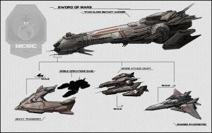 Ships Military by ZackJoad