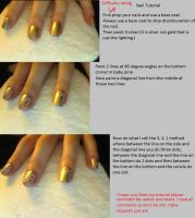 Nail Tutorial 5 by NAILART9