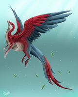 Dragon of Paradise - Parrot by 98embla