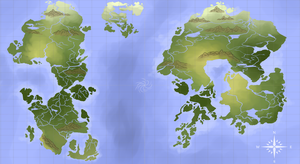 Map of Ethiir [Geographical] by AtheIas