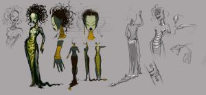 Medusa Concept by FreakyKitty