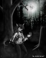 Commission: Woods of the Moon 02 by ViroVeteruscy