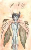 Poison Ivy Faerie by fawnmaiden