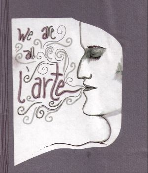 we are all l'arte by lickurlips