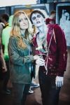 R and Julie on STARCON-2014 ~Warm Bodies~ by cuppacoffeeplease