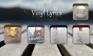 Vinyl Lyrics Pocket Collection by Goddbody