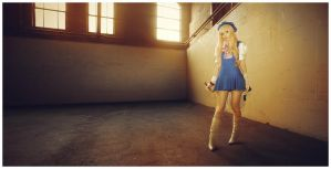 All the worlds a stage Sheryl by LolaInProgress