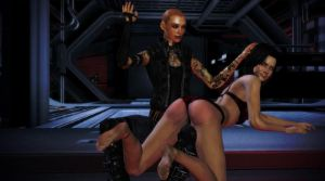 Singularity: ''You're in for a spanking'' by Varlavavarda