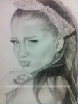 Ariana Grande Drawing by sunyeon-snsd