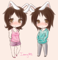 Bunnies by NotLucy