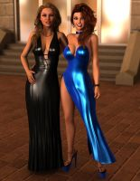 Jennifer and Tiffany - Leather and Latex by 007Fanatic