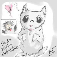Blix-it's Skittlez the pug by shaharw