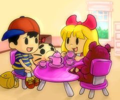 Earthbound-TeaTime by elazuls-core