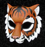 Bengal Tiger Mask by merimask