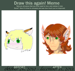 Draw this again meme - my first photoshop try by TheNymphia