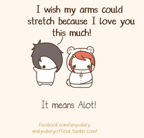 I love you this much~ by EmilysDiary