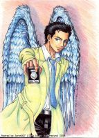 Supernatural-Castiel by syren007