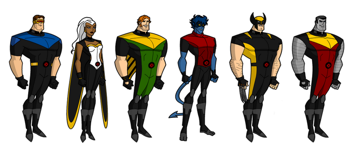 Uncanny X-men Bruce Timm Style by grego23