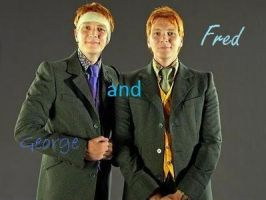 Fred and George by thexbitterxsweet