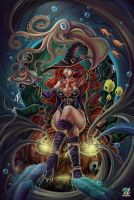 Witch bubble by EdgarSandoval