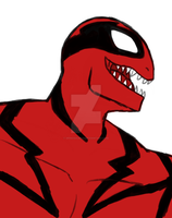 Ultimate Spider-Man Carnage by Spinosaur123
