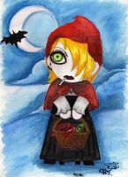 red little riding ...kozi by Zabyna