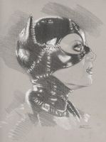 Catwoman Michelle Pfeiffer by Tifaerith