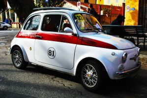 1970 Abarth 695 SS by GladiatorRomanus