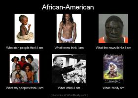 What I Really Am: African American by Achar223